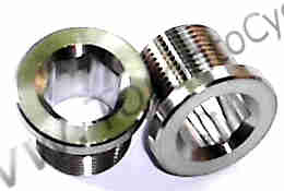 Titanium Chainring Bolts, Titanium Crank Bolts, KCNC Chainring Parts