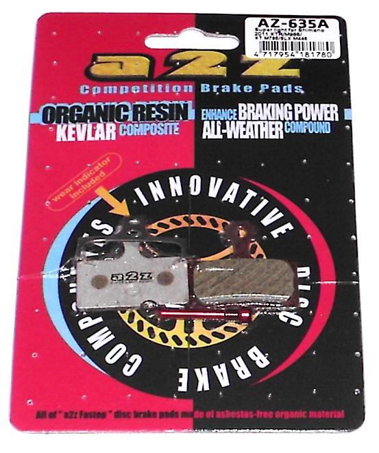 A2Z Disc Brake Pad AVID Code 4 SINTERED AZ-295S