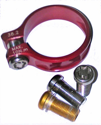 Titanium Security Bolts, Ti Anti Theft , Atomic22, Security