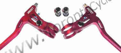 AEST Brake Levers, A2z Lever Clamps, Precision Billet levers