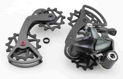 J/&L Rear Derailleur Carbon Inner Cage//Plate for CAMPAGNOLO RECORD,CHORUS
