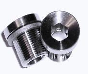 M15 Titanium Self Extracting Crank Bolts - Recessed Head